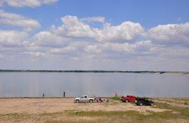 Harlan County Lake in Nebraksa