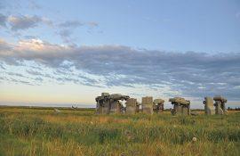 Stonehenge of cars in Alliance ebraska